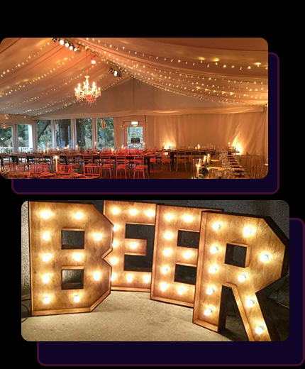 Cheap Event lighting on Hire in Essex