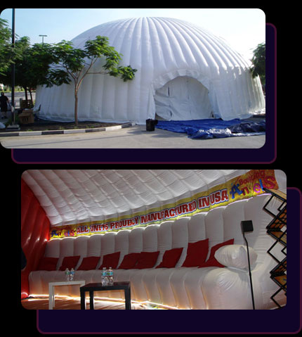 inflatable dome hire essex